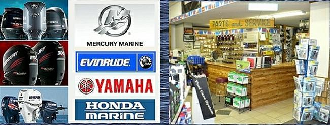 Outboard parts header smithville marine